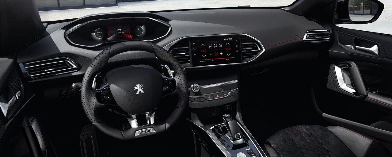 Kompaktwagen PEUGEOT 308 – Innendesign – PEUGEOT i-Cockpit®