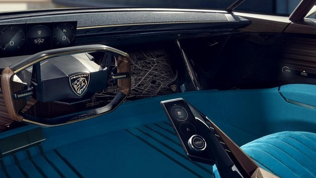PEUGEOT-Concept-Car-e-Legend-Innendesign-Armaturentafel