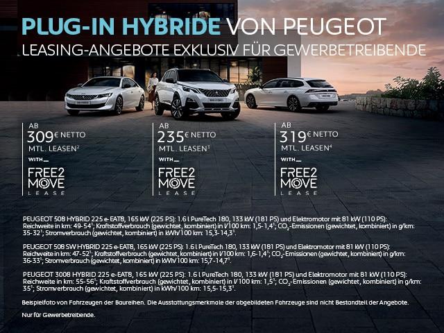 Plug-In Hybride von PEUGEOT – Leasing Angebote jetzt entdecken