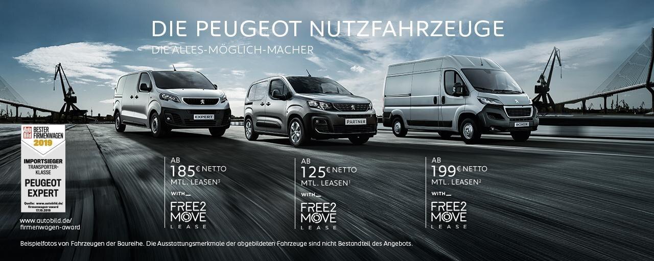PEUGEOT Nutzfahrzeuge - Leasing Angebote