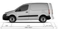 PEUGEOT-Partner-Kastenwagen-Abmessungen-außen
