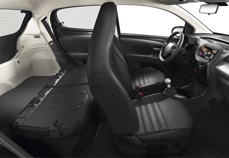 PEUGEOT 108 Stadtauto Raum Angebot Modularität