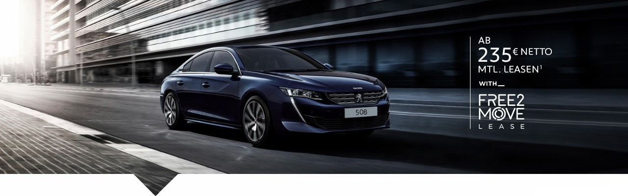 PEUGEOT 508 Leasingangebot