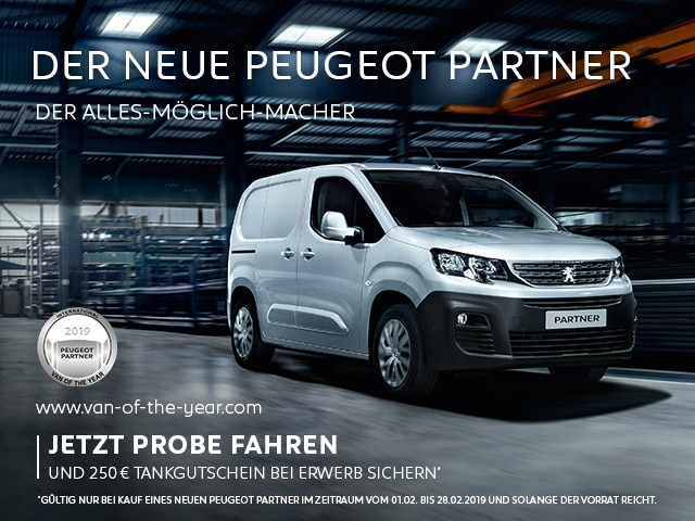 Neuer-PEUGEOT-Partner-Tankgutschein-Probefahrt