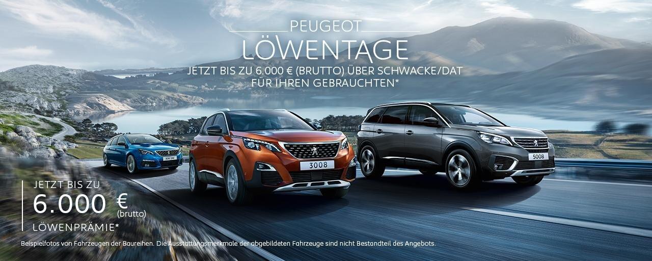 PEUGEOT Neuwagen Angebote – Umsteigen und Praemie sichern