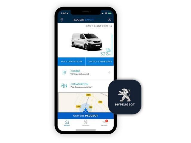 Der neue PEUGEOT e-Expert – Vernetzte Services mit der MyPEUGEOT App