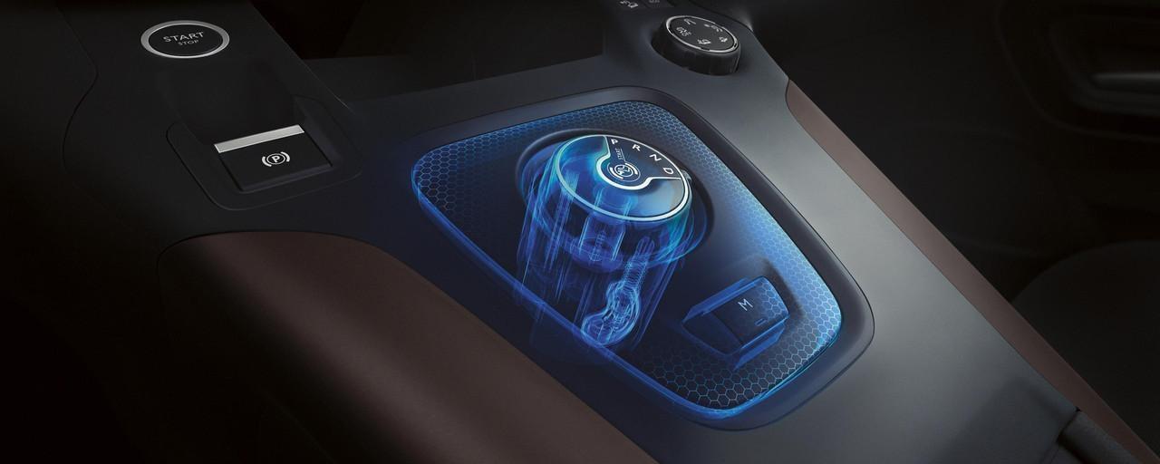 Der NEUE PEUGEOT RIFTER – 8-Stufen-Automatikgetriebe (EAT8) mit Drehknopf