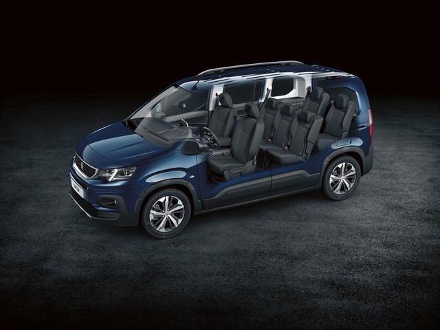 NEUER PEUGEOT RIFTER – Van mit 7 Sitzplaetzen