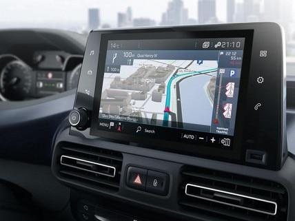 NEUER PEUGEOT RIFTER – 8''-Touchscreen (20,23 cm)