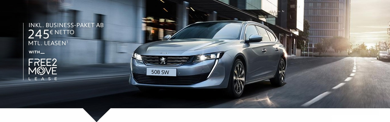Neuer PEUGEOT 508 SW – Leasing Angebot