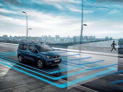 Neuer PEUGEOT RIFTER – Fahrerassistenzsysteme