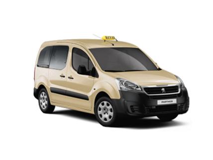 Partner Auto PEUGEOT als taxi