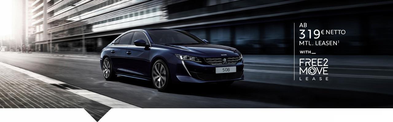 Limousine PEUGEOT 508 – Leasing Angebote entdecken