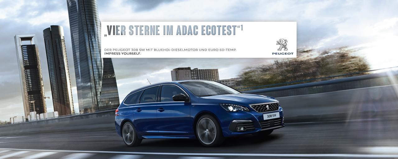 Neuer-PEUGEOT-308-SW-uberzeugt-im-ADAC-EcoTest