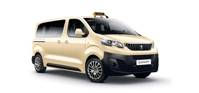 PEUGEOT-Expert-Taxi-Branchenloesungen