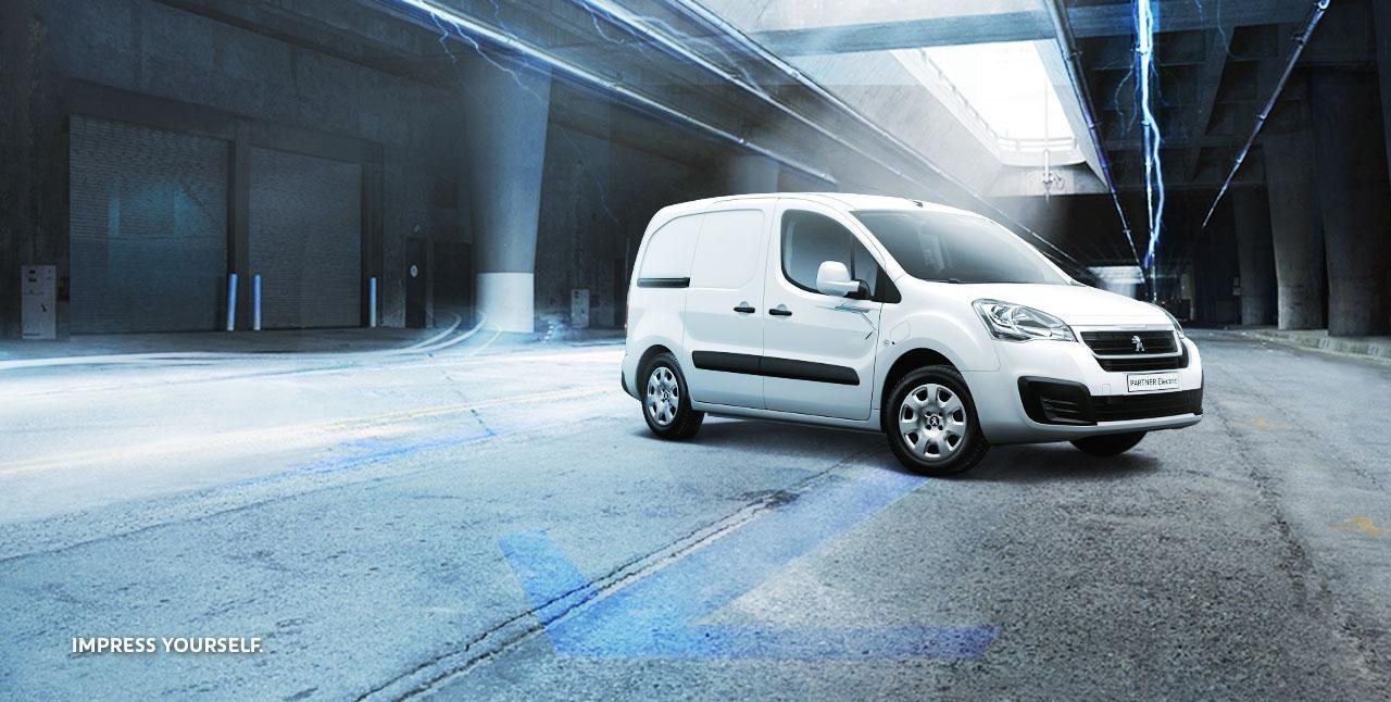 PEUGEOT Partner Electric Kleintransporter Leasing-Angebot