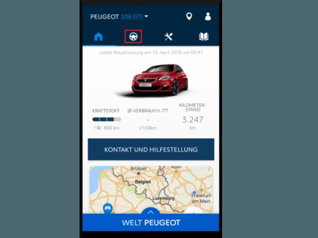MYPeugeot-App-Auf-Fahrtdaten-zugreifen