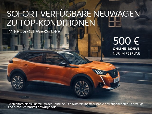 Sofort verfuegbare Neuwagen – Mit Online-Bonus