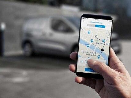 Elektro-Kastenwagen PEUGEOT e-Partner – e-Remote Control Fernsteuerung uber die MyPEUGEOT App