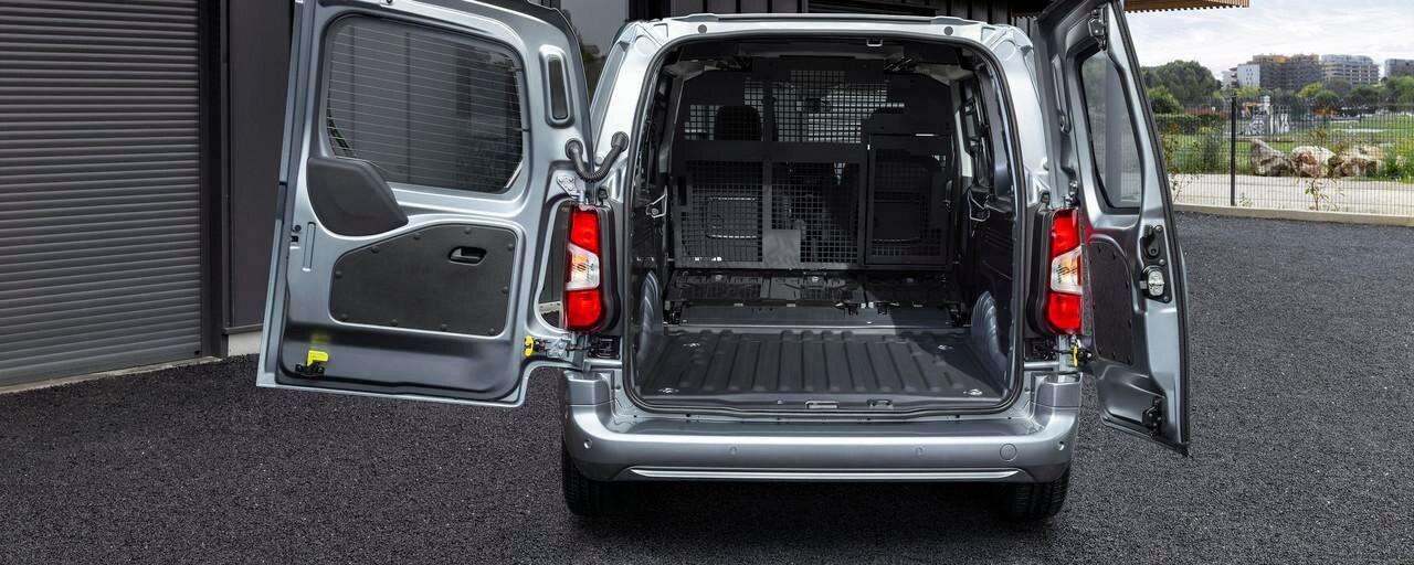 Elektro-Kastenwagen PEUGEOT e-Partner – Modularitaet
