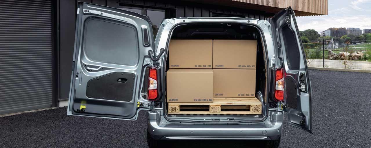 Elektro-Kastenwagen PEUGEOT e-Partner – Nutzlast
