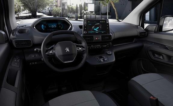 Elektro-Kastenwagen PEUGEOT e-Partner – PEUGEOT i-Cockpit®