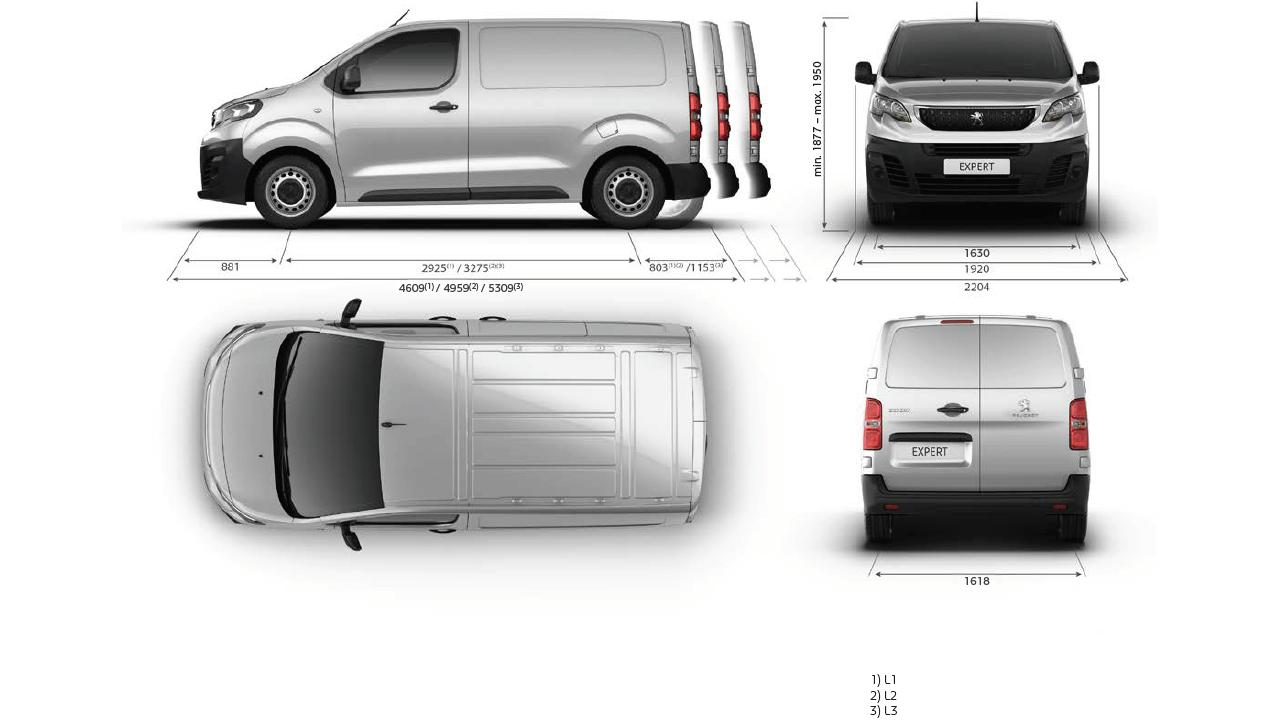 Der Expert Kastenwagen Von Peugeot