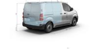 Kastenwagen-PEUGEOT-Expert-technische-Informationen-Laderaum