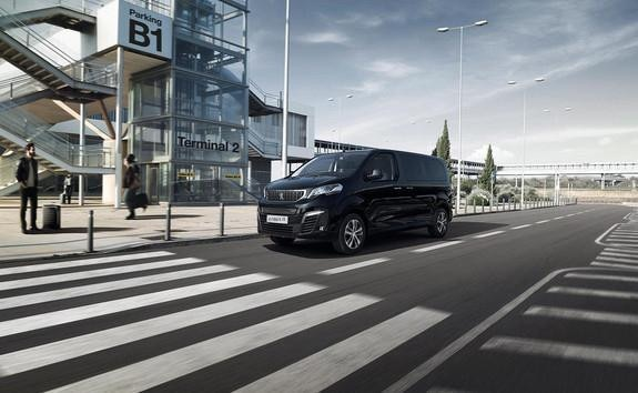 PEUGEOT e-Traveller Business – Bremsmodus