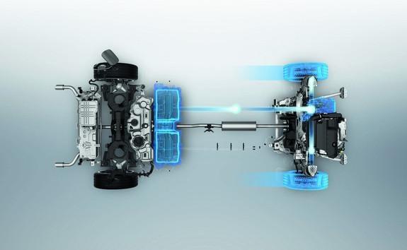 Neue PEUGEOT 508 HYBRID Limousine, Lithium-Ionen-Batterie im Modus mit 100 % Elektroantrieb