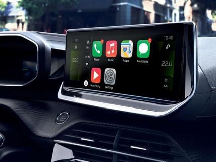 PEUGEOT 208 – Vernetztes 3D-Navigationssystem mit 10-Zoll-HD-Touchscreen