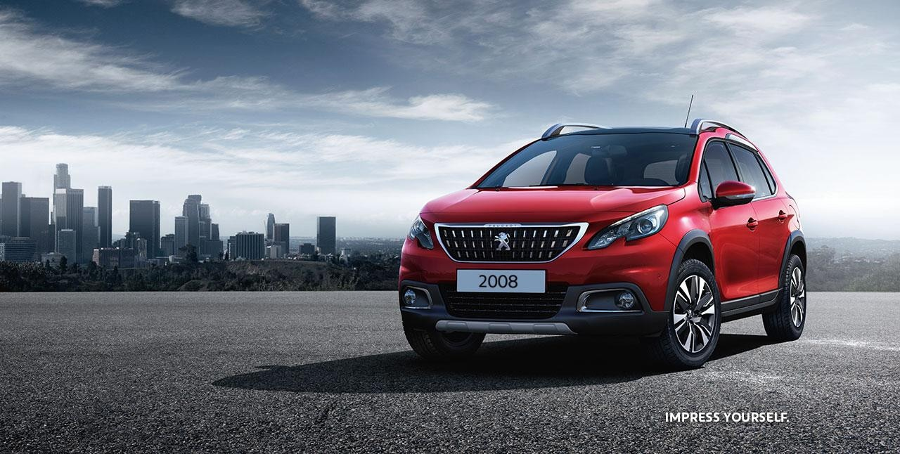 PEUGEOT 2008 City-SUV Frontansicht Leasing-Angebot