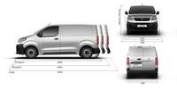 PEUGEOT Expert Kastenwagen technische Daten Abmessungen außen