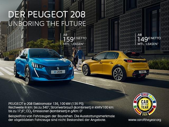 PEUGEOT 208 & e-208 – Leasing Angebote