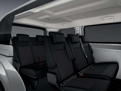 Kleinbus PEUGEOT Expert Kombi – Sitzreihe 2 und 3