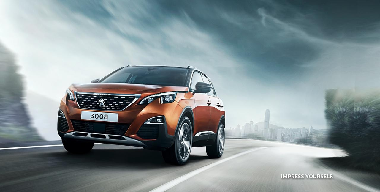 PEUGEOT 3008 Frontansicht SUV Leasing-Angebot