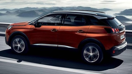 PEUGEOT SUV 3008 Seitenansicht Design Car of the Year