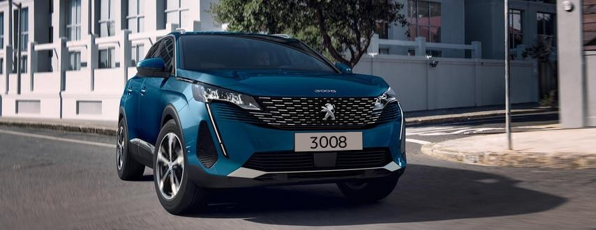 Neuer SUV PEUGEOT 3008 - Aussendesign neue Front