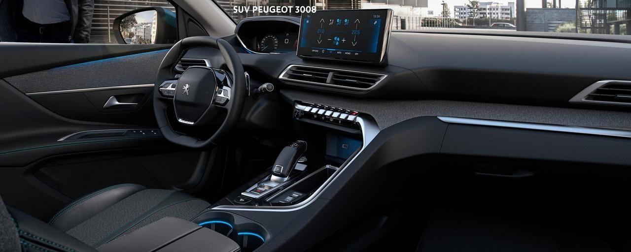 Neuer SUV PEUGEOT 3008 - Innendesign
