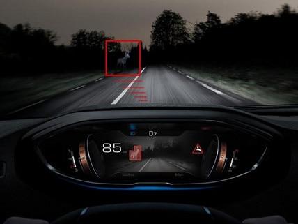 Neuer SUV PEUGEOT 3008 – Nachtsichtsystem Night Vision